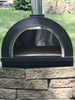 ilFornino® Piccolino Wood Fired Pizza Oven – Black- Counter Top