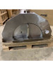 Fiamma Rossa– Grande Stainless Steel Wood Fired Pizza Oven with Adjustable Height Stand / Small Dent