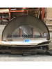 Roma Series – Media Stainless Steel Wood Burning Pizza Oven With Stand / Large Dent