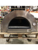 Fiamma Rossa– Media Stainless Steel Wood Fired Pizza Oven with Adjustable Height Stand / Slightly Used