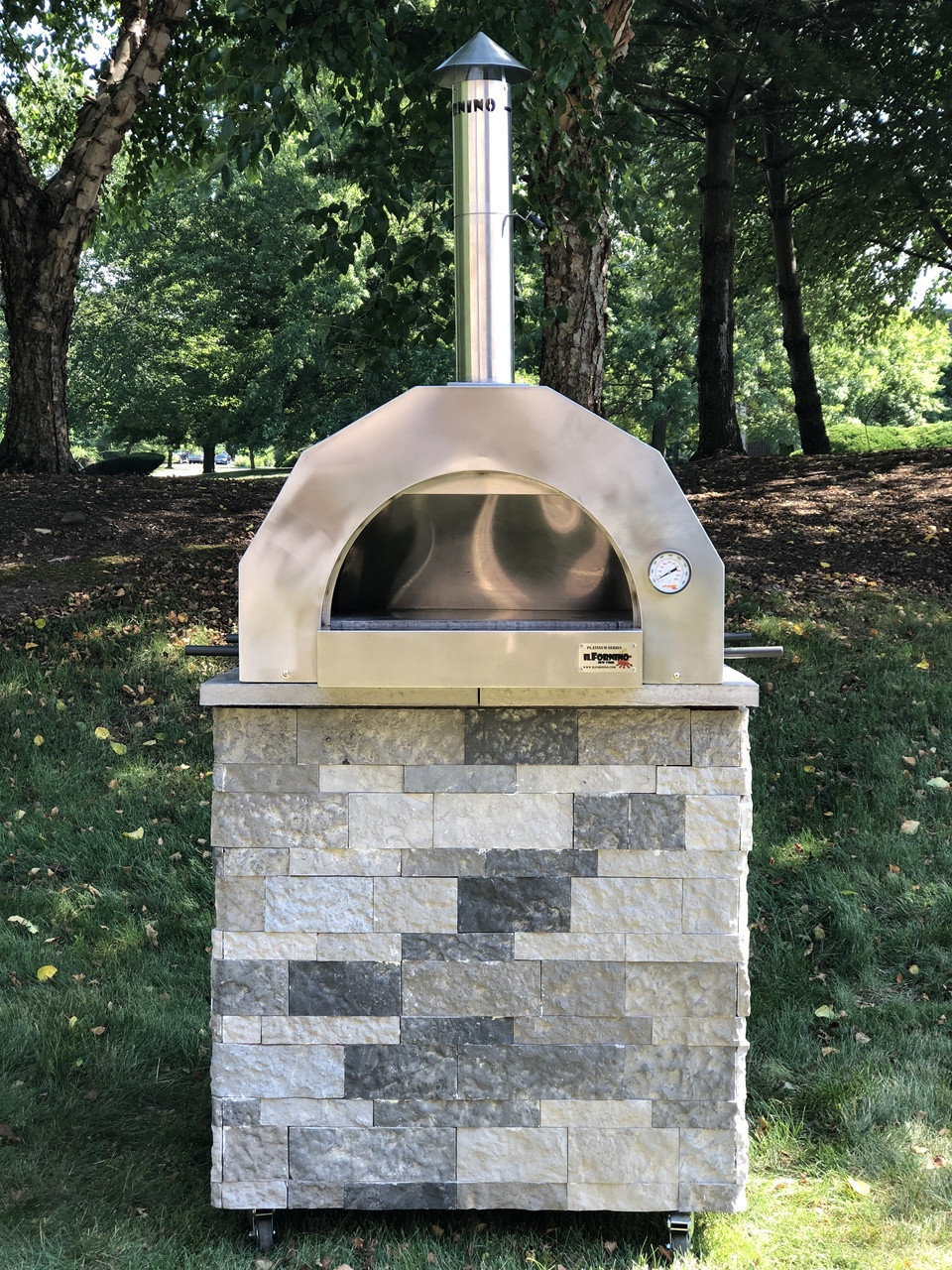 ilFornino® Basic Wood Fired Pizza Ovenn