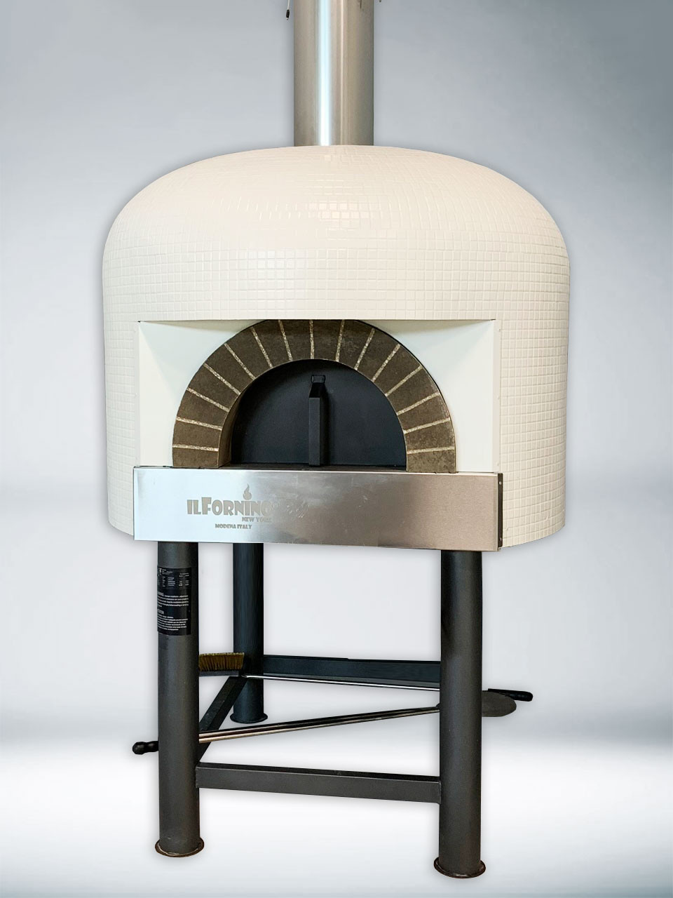 Napolicento Commercial Wood Fired Pizza Oven with Stand