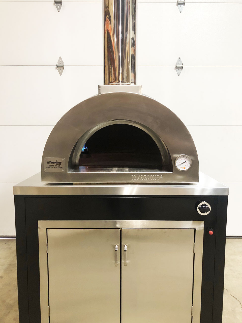 elite gas fired pizza oven
