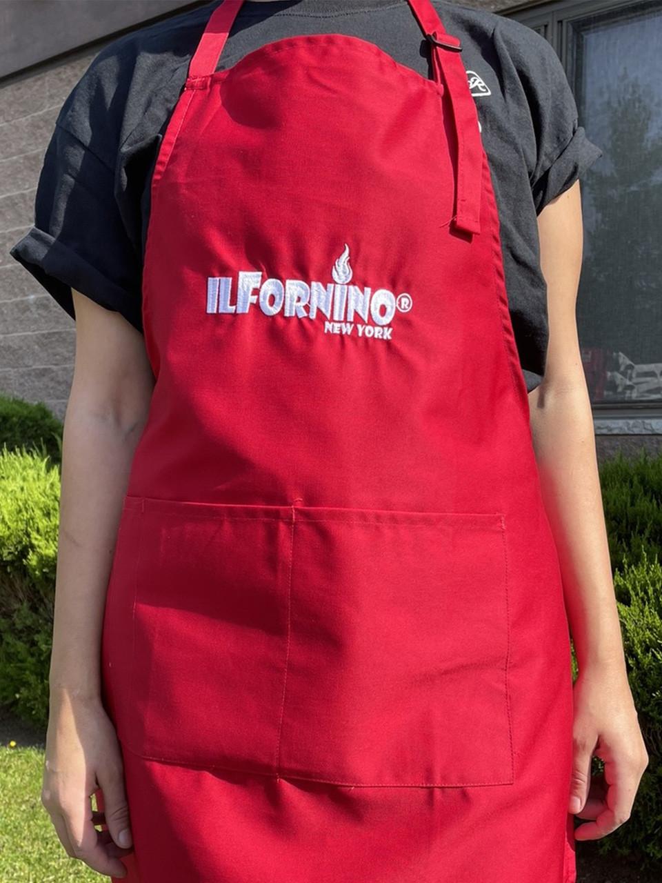 red apron unisex - ilfornino
