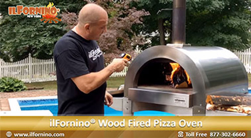 Getting your Wood Fired Oven Ready for Cooking by ilFornino