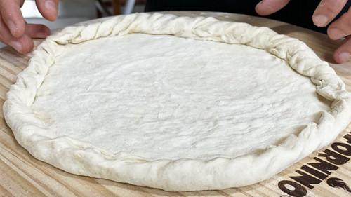 Homemade Pizza Dough Recipe  - Easy & Simple