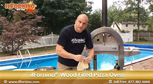 Make Perfect Wood Fired Pizza by ilFornino New York