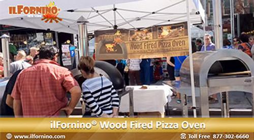 ilFornino Wood Fired Pizza Oven at Ferragosto 2015!