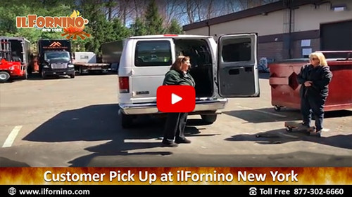 Recommendation of Happy Customer | ilFornino Wood Fired Oven Pick Up