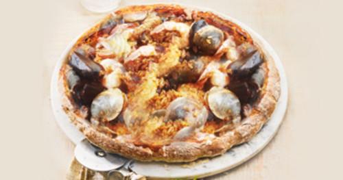 Ai Frutti Di Mare Pizza