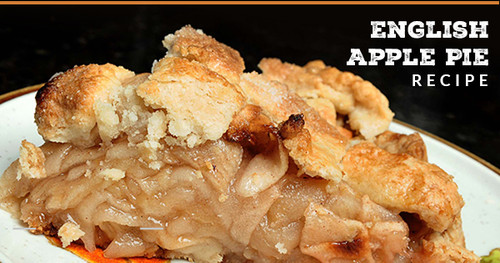 How to make English Apple Pie in Wood Fired Oven