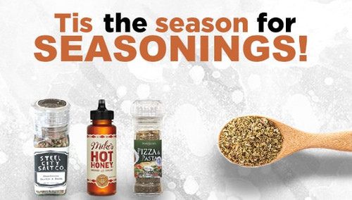 Tis The Season For Seasonings!
