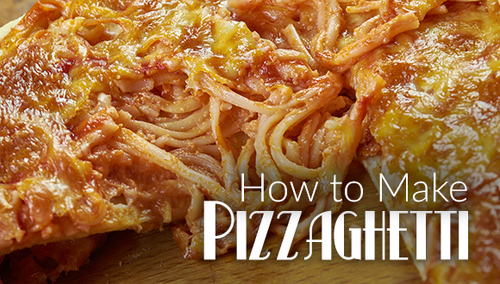 Pizza-Ghetti! What Is Pizza-Ghetti? How To Make A Wood Fired Pizza-Ghetti?