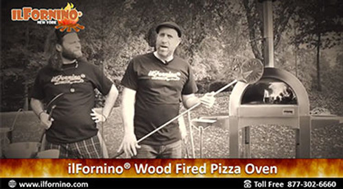 Buffalo Chicken Wood Fired Pizza By ilFornino!