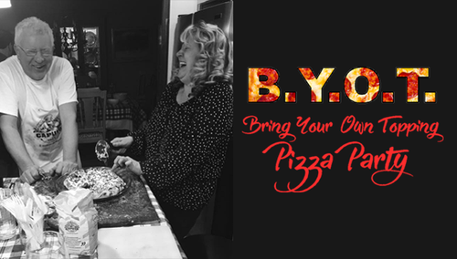 Bring Your Own Topping Pizza Party