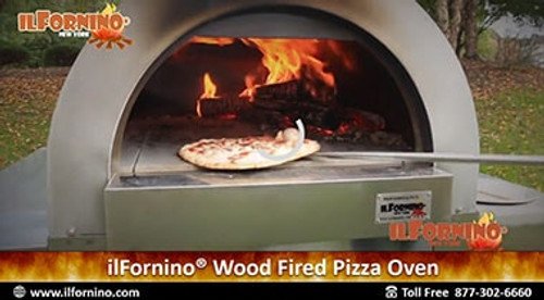 Cheese Wood Fired Pizza by ilFornino!
