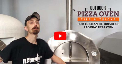 How to Clean the Outside of ilFornino Pizza Oven | Wood Fired Oven Tips & Tricks