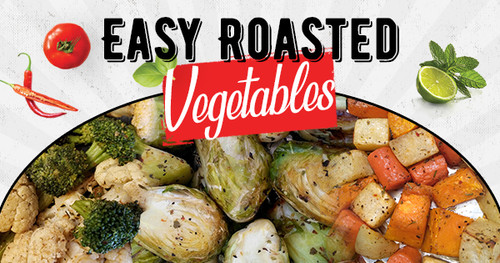 Easy Roasted Vegetables In Wood Fired Oven