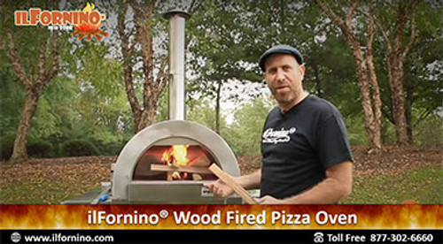 How to get Started & Fire up the ilFornino Wood Fired Oven