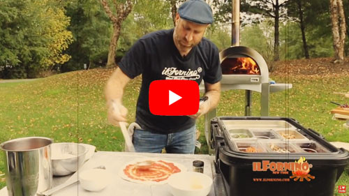 How To Make A Smokey Pepperoni Wood Fired Pizza By ilFornino!