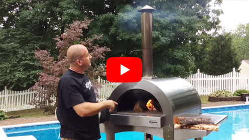 How to Start the Fire in Wood Fired Oven by ilFornino!