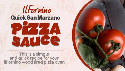 ilFornino Quick San Marzano Pizza Sauce