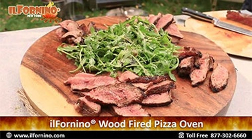 How to cook amazing Ribeye Steaks in ilFornino Wood Fired Oven!