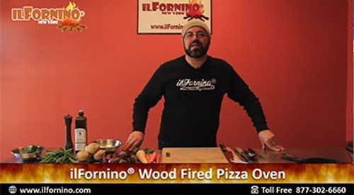 How to make Hasselback Potatoes in ilFornino Wood Fired Oven