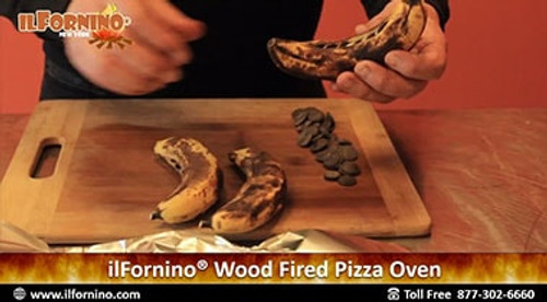 How to make Banana Chocolate S'mores in ilFornino Wood Fired Oven