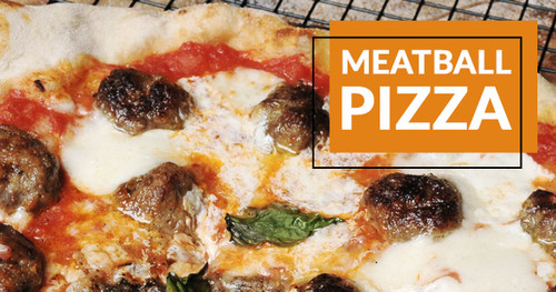 Wood Fired MeatBall Pizza Recipe