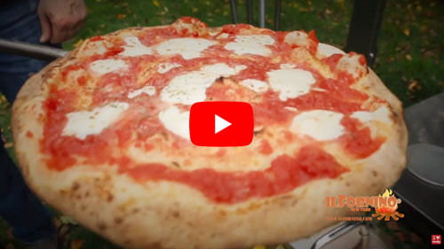 Neapolitan Margherita Wood Fired Pizza by ilFornino