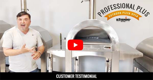 ilFornino Professional Plus Outdoor Pizza Oven - Customer Testimonial