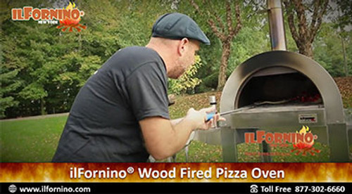 Wood Fired Sausage and Peppers Pizza by ilFornino