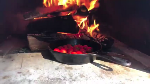 Wood Fired Cherry Tomato By ilFornino!
