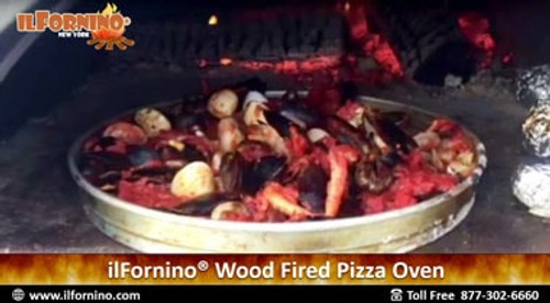How to Bake Seafood in ilFornino Wood Fired Oven!
