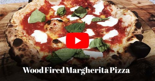 Wood Fired Margherita Pizza at ilFornino Pizza Academy