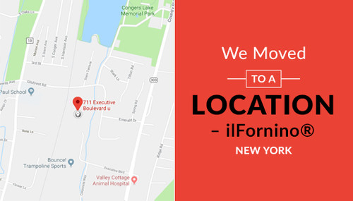 We moved to a new location- ilFornino® New York