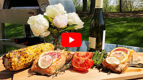 Wood Fired Cedar Planked Salmon Recipe