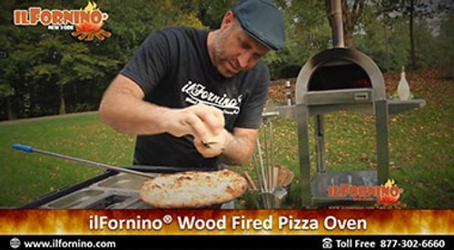 How to make White Pizza in ilFornino Wood Fired Pizza Oven