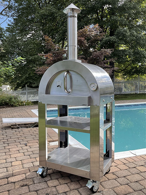 ilFornino® Largo Professional Stainless Steel Wood Fired Pizza Oven