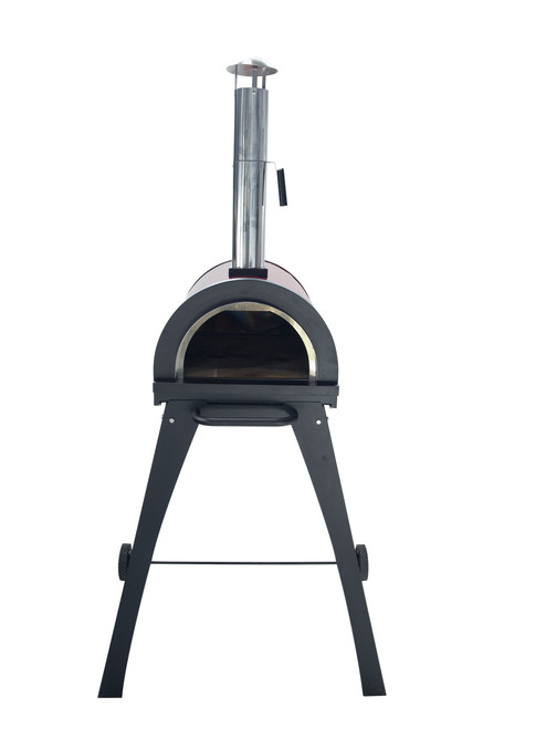 Piccolinio Wood Fired Pizza Oven - Red Sctraches- Needs Paint AS IS
