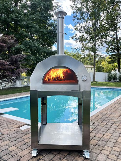 ilFornino® Fiamma Rossa– Media Outdoor Pizza Oven