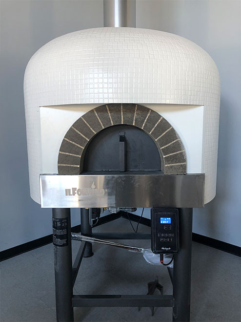 Commercial Gas + Wood Fired Pizza Oven