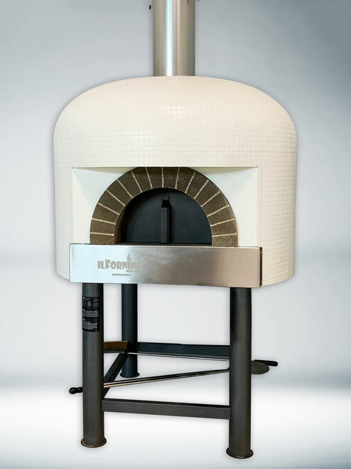ilFornino® Napolicento Commercial Wood Fired Pizza Ovenwith Stand