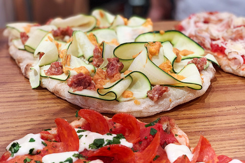 Roman Pizza Al Metro & Ricotta Cheese Class 1
