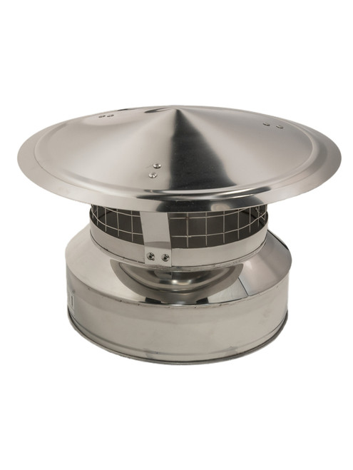 Chimney Rain Cap with Spark Arrestor 8""