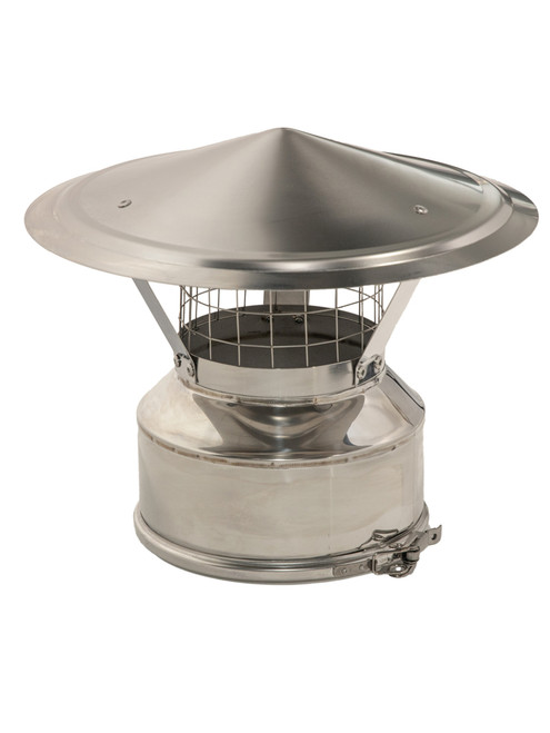 Chimney Rain Cap with Spark Arrestor 5""