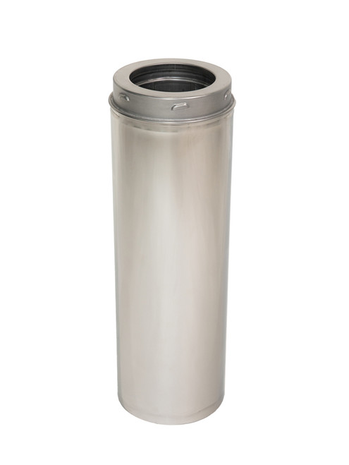 """Chimney Extension Adapter Straight Pipe 5""""-30"""""""