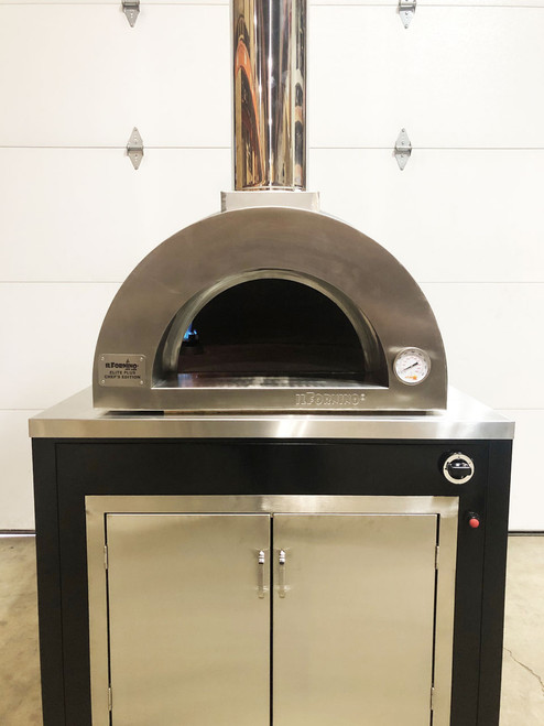 Elite Chef's Edition - Gas Fired Pizza Oven with Cabinet- ilFornino ®