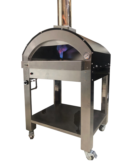 ilFornino ® Grande G-Series - Gas Fired Pizza Oven - Powder Coated Black
